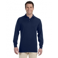 Jerzees 437ML Long Sleeve 50/50 Polo