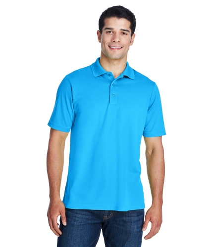 88181 by Core 365 Mens 100% Polyester Performance Polo