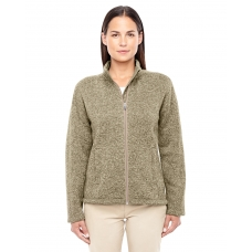 DG793W Devon & Jones Full Zip Ladies Bristol Sweater Fleece