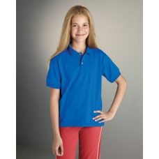 Gildan G880B Youth 5.6 oz. Dry Blend 50/50 Jersey Polo