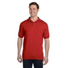 Hanes 054P 5.5 oz., 5050 EcoSmart® Jersey Pocket Polo