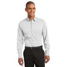 Port Authority S646 Mens Stretch Poplin Shirt