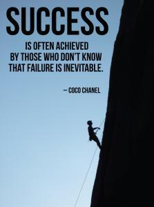 Achieving a desirable outcome as well as knowing how to succeed where most people fail.