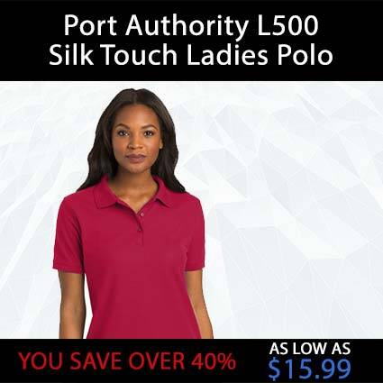 Port Authority L500 Silk Touch Ladies Polo