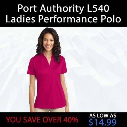 Port Authority L540 Ladies Performance Polo