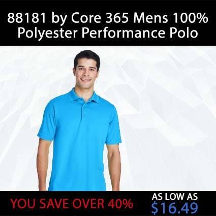 88181 Core 365 Men's Polos Shirt