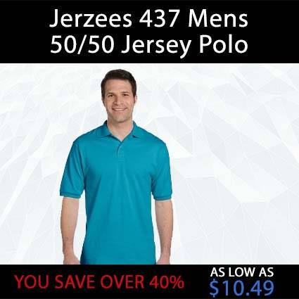 Jerzees 437 Men's Polo