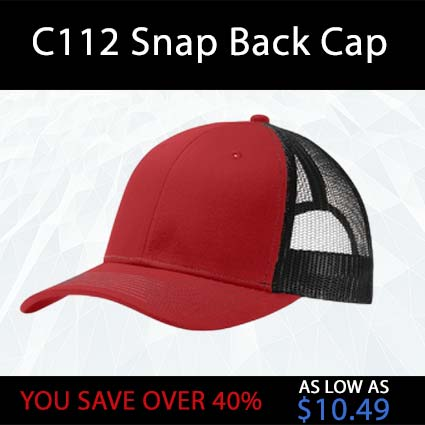 C112 Snap Back Cap
