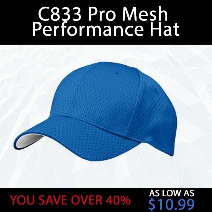 C833 Pro Mesh Performance Hat