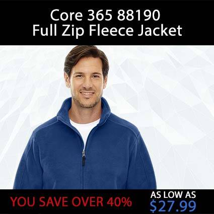 Core 365 88190 Full Zip Fleece Jacket