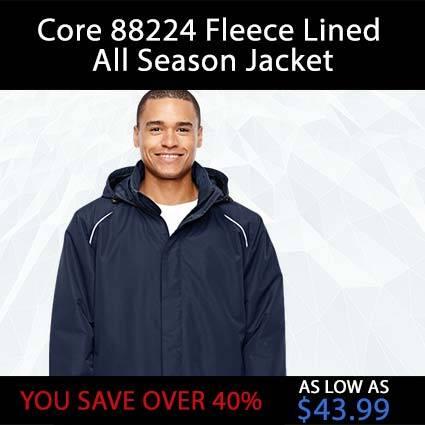 Core 88224 Fleece Lined All Season Jacket
